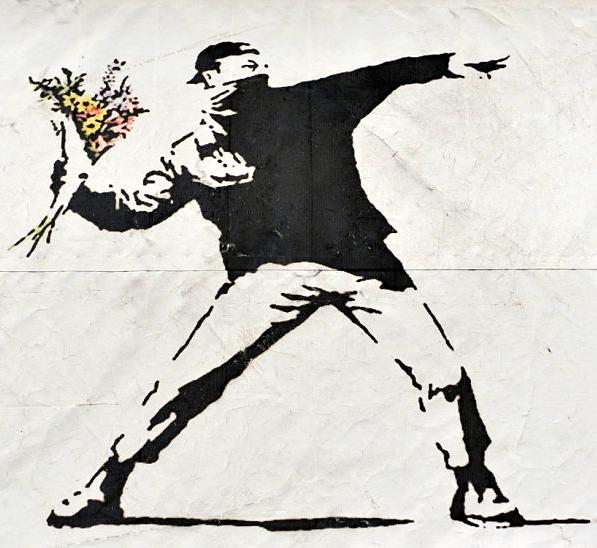 nonviolence-banksy-graffiti